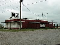 USA - Yukon OK - Maes Abandoned Deer Diner (19 Apr 2009)